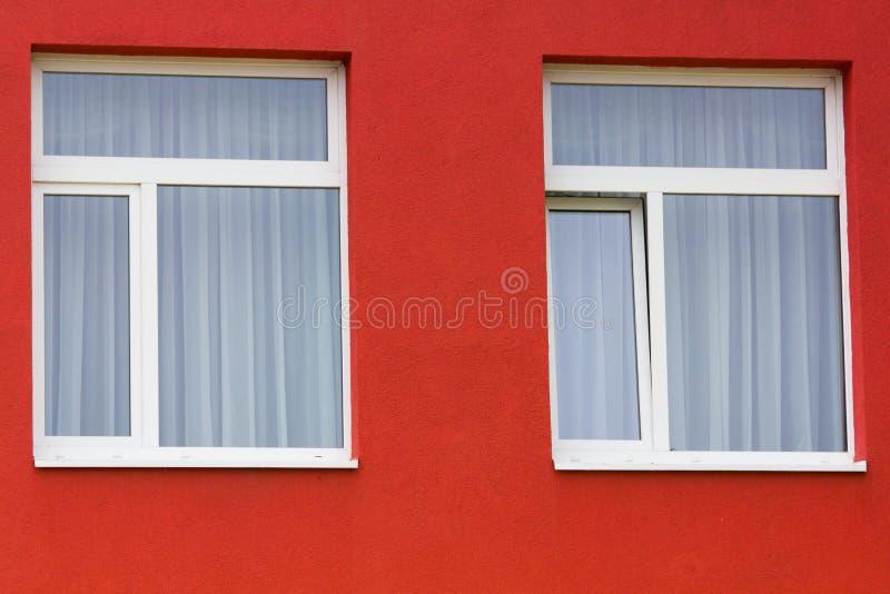 Heldere gekleurde moderne openbaar gebouwkleuterschool royalty-vrije stock fotografie