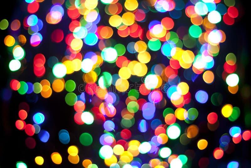 Heldere kleuren van Kerstmis stock fotografie