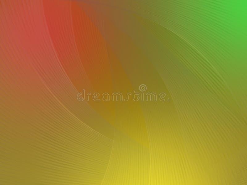 Heldere kleurenachtergrond met lichte transparante lijnen vector illustratie
