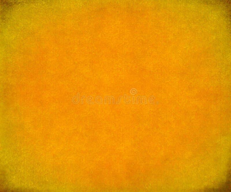Heldere sinaasappel geschilderde document of canvasachtergrond stock foto's