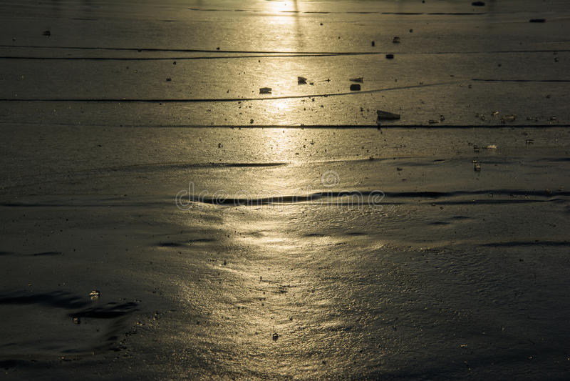 Heldere zonnige dag in Antarctica stock foto