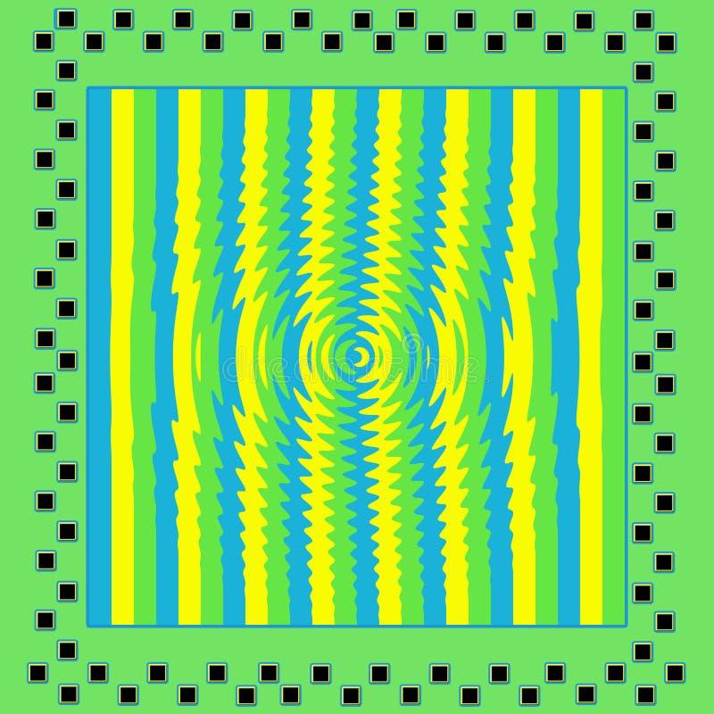 Download Heldergroene/Gele/Blauwe Abstracte Achtergrond Stock Illustratie - Illustratie bestaande uit helder, vierkanten: 54092025
