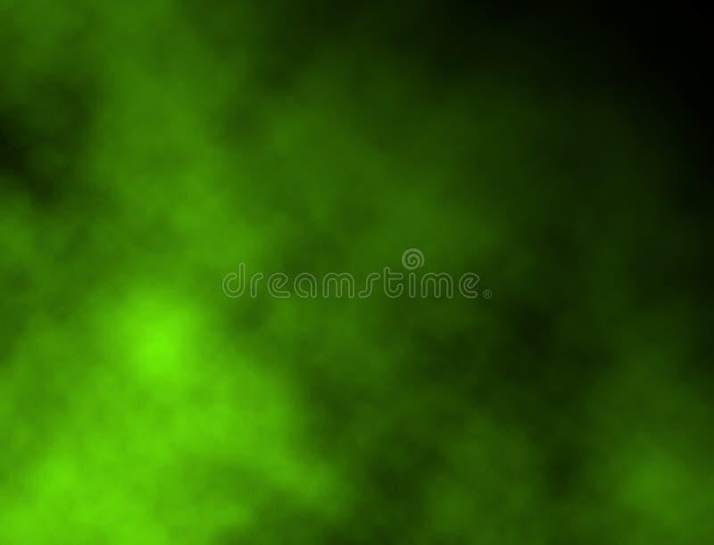 Heldergroene Rook royalty-vrije illustratie