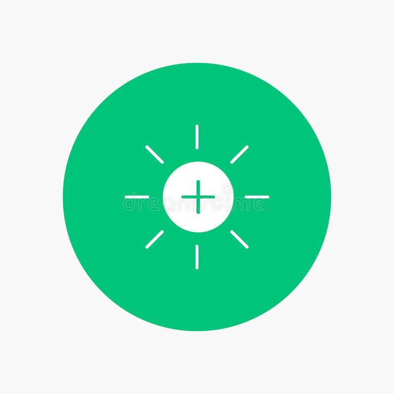 Helderheid, Interface, Ui, Gebruiker stock illustratie