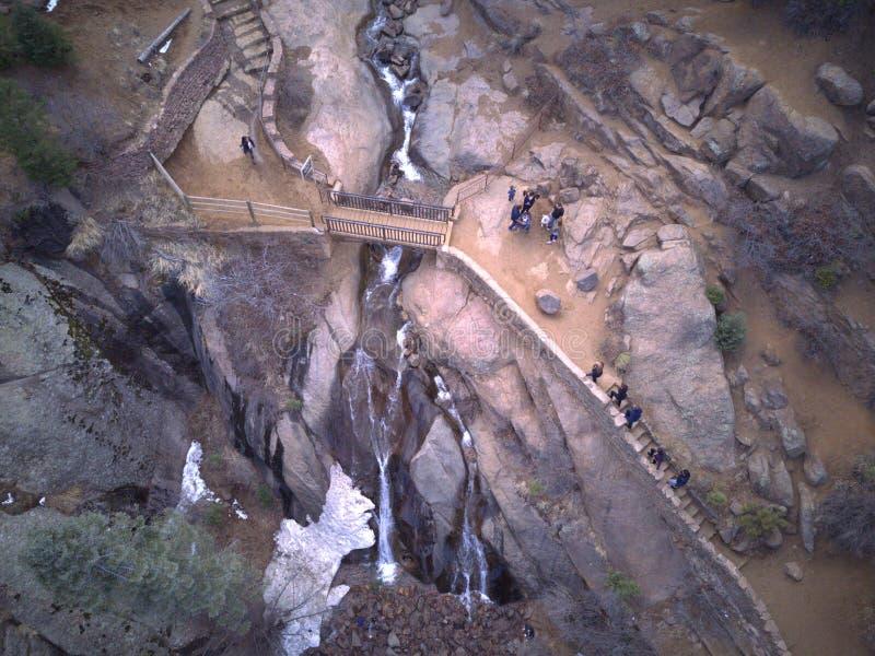 Helen jaktnedgångar Colorado Springs arkivbilder