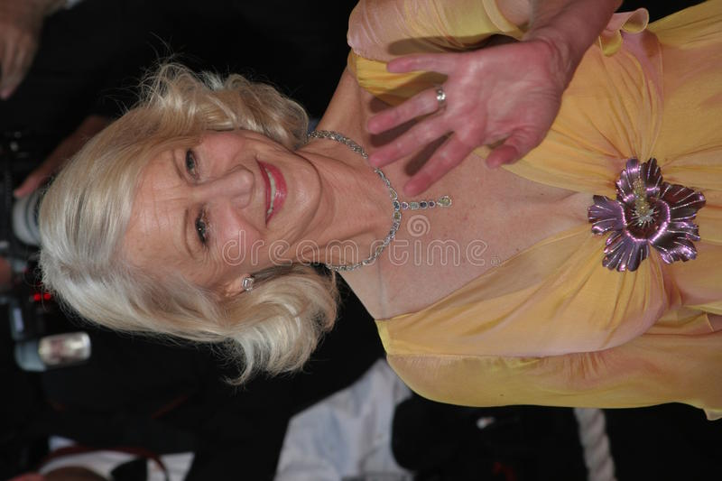 Helen Mirren royalty-vrije stock foto's