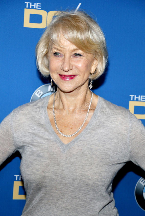 Helen Mirren image stock
