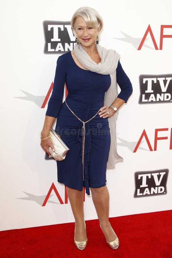 Helen Mirren, Morgan Freeman royalty-vrije stock foto's
