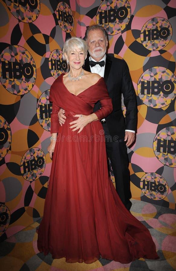 Helen Mirren, Taylor Hackford stock photo