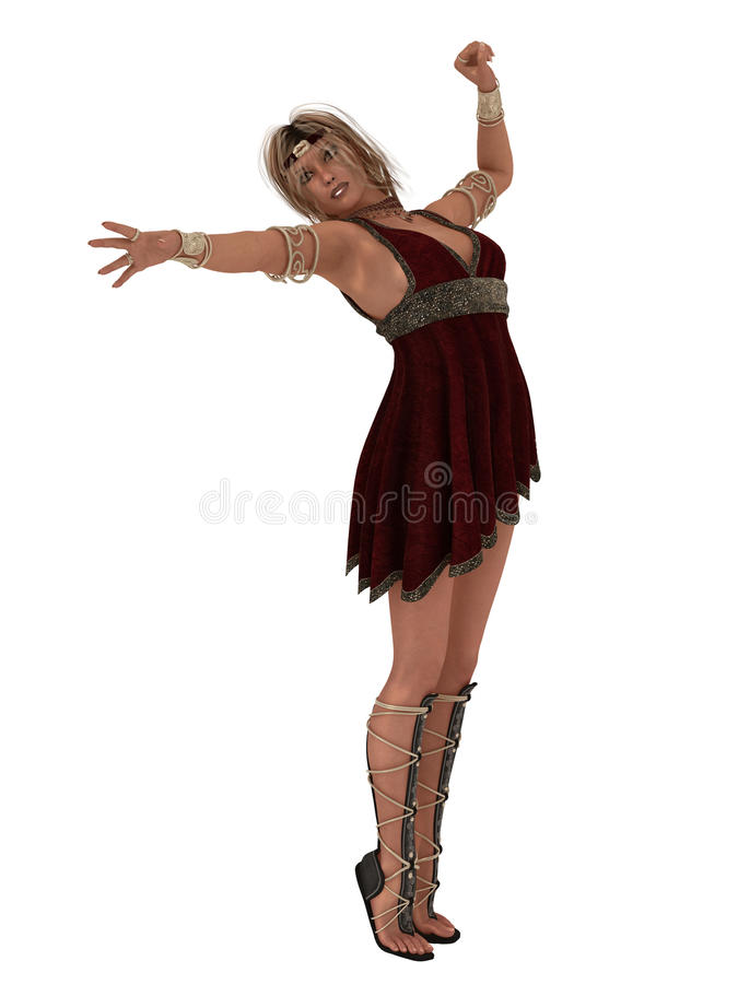 Helen of Troy stock illustration