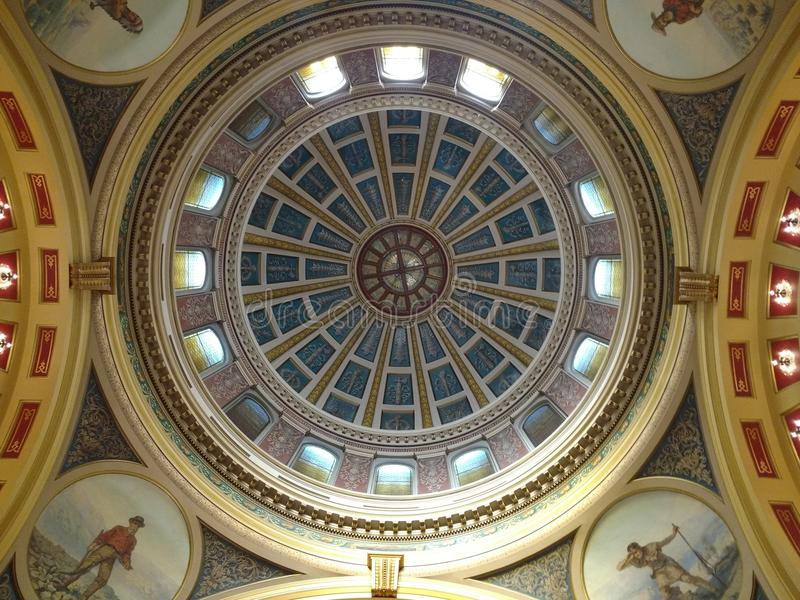Helena Capital Dome image stock