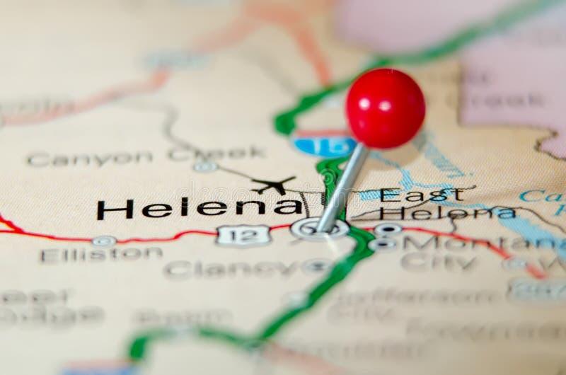 Helena city stock image
