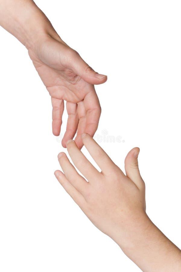 Helfende Hände stockbilder