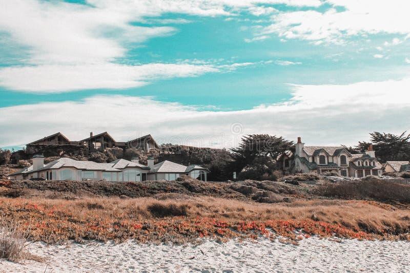 Helg till och med den Kalifornien kusten - huvudväg 1 royaltyfria foton