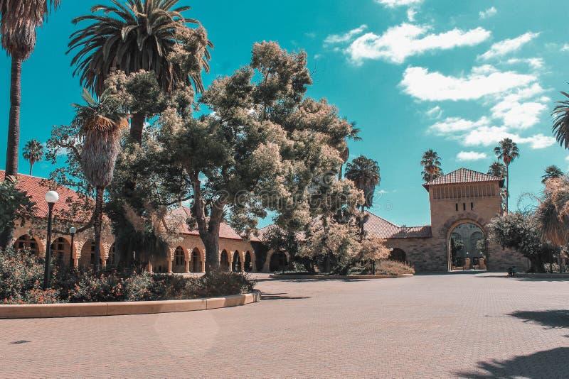 Helg till och med den Kalifornien kusten - Stanford royaltyfria foton