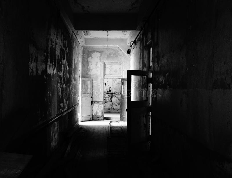 Helgad korridor royaltyfri fotografi