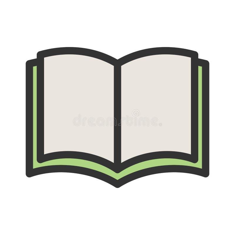 Helgedomen bokar vektor illustrationer