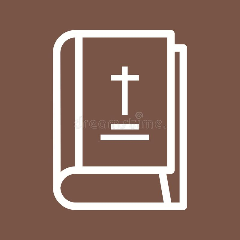Helgedomen bokar stock illustrationer