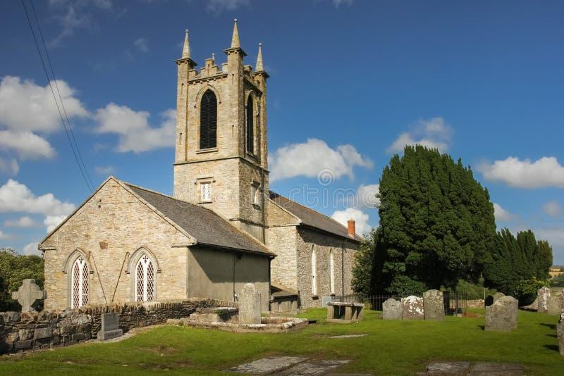 Helgon Edan Cathedral ferns Co Wexford ireland royaltyfri bild