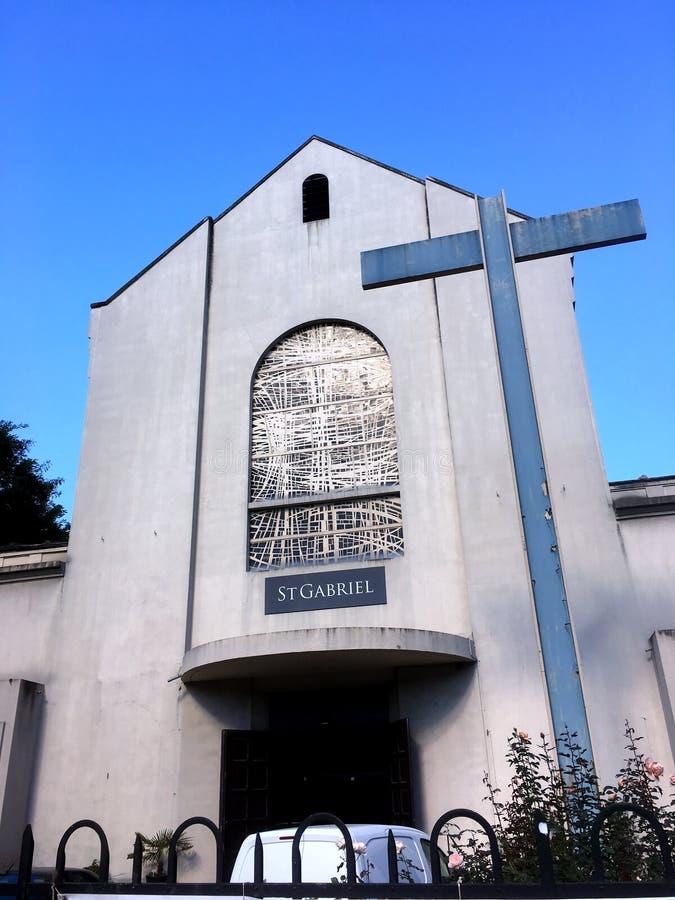 Helgon Gabriel Church arkivfoton