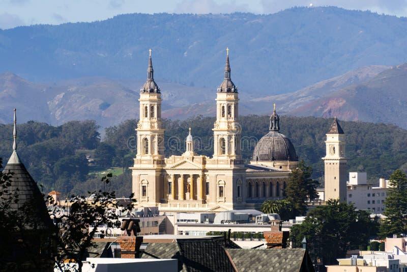 Helgon Ignatius Church, San Francisco, Kalifornien royaltyfri fotografi