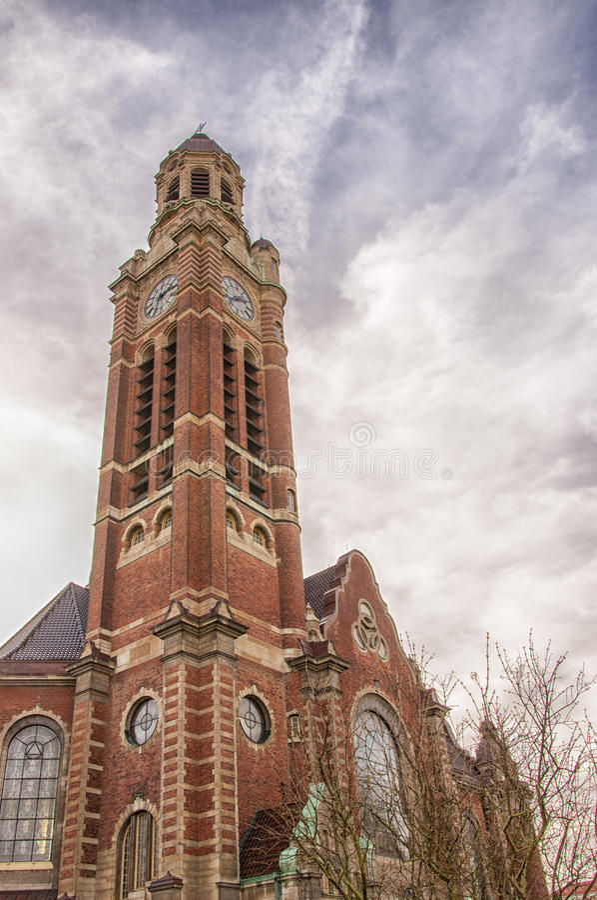 Helgon Johannes Church royaltyfri foto