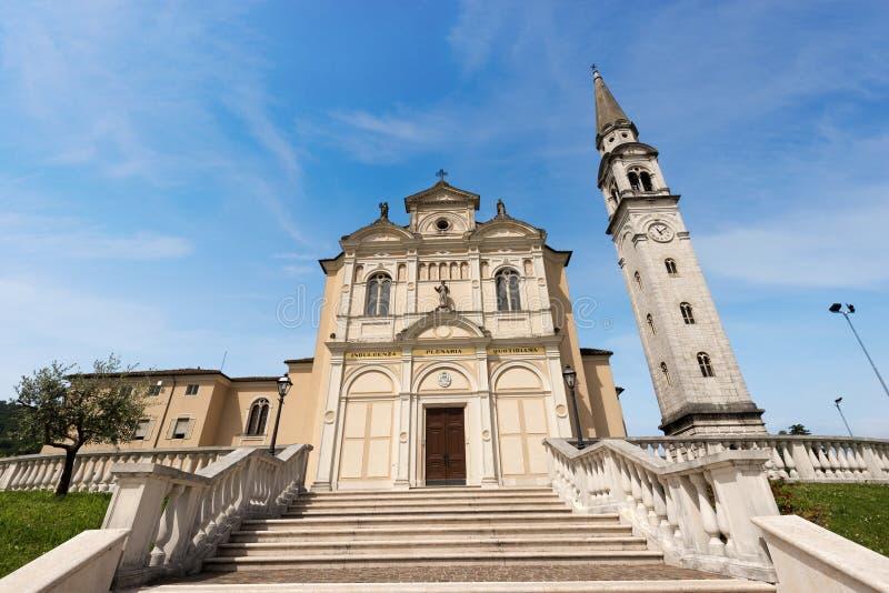 Helgon Joseph Church - Monte di Malo Vicenza Italy arkivfoto