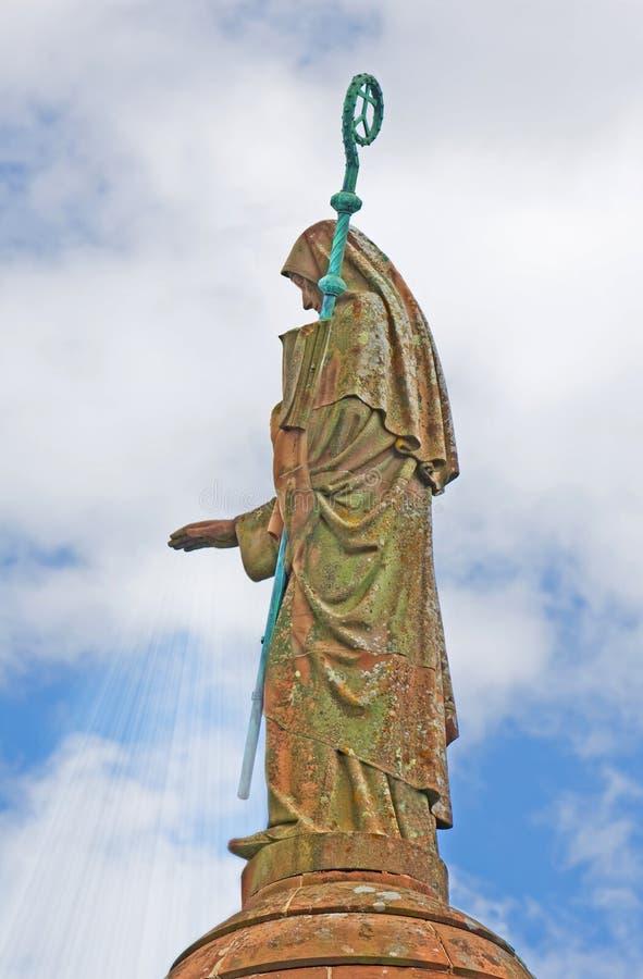 Helgon Odile - helgonet av Alsace royaltyfria foton