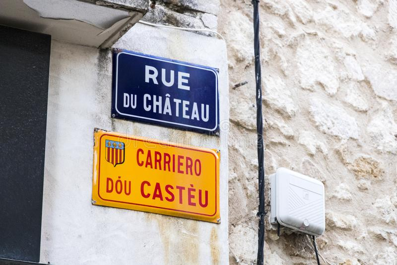 Helgon-Remy-de-Provence Frankrike royaltyfri bild