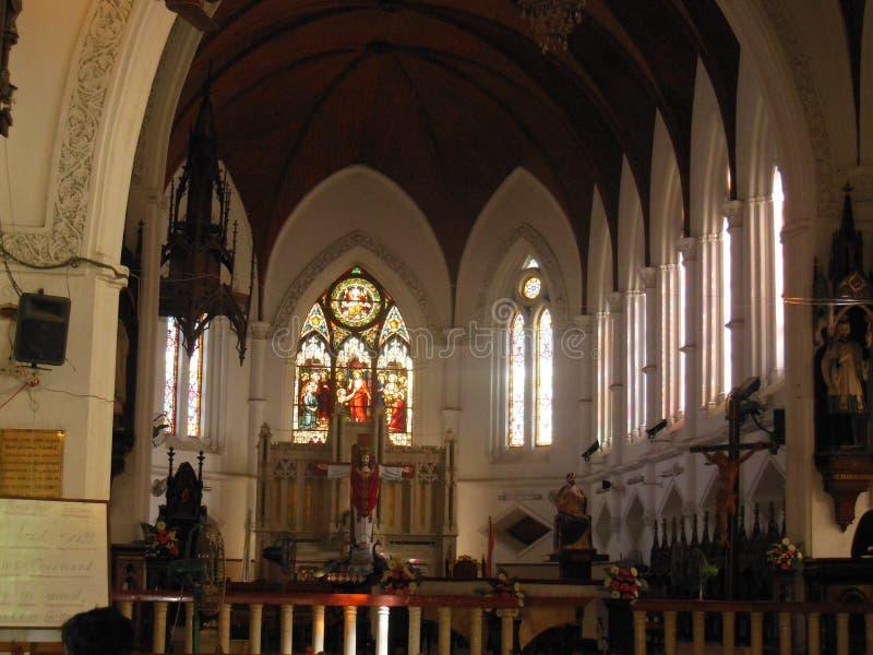Helgon Thomas Basilica 2 royaltyfri bild
