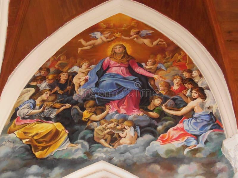 Helgon Thomas Basilica 4 royaltyfri bild