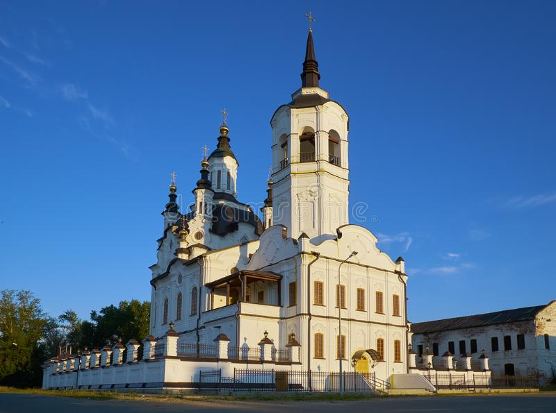 Helgon Zachary och Elisabeth Church Tobolsk Ryssland arkivfoton