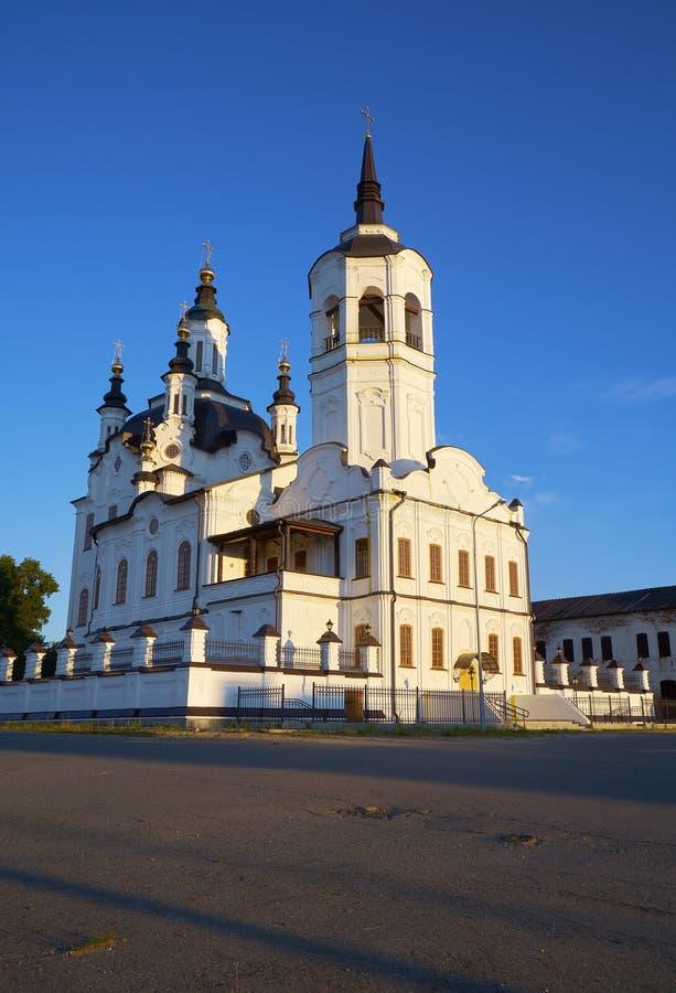 Helgon Zachary och Elisabeth Church Tobolsk Ryssland royaltyfria bilder