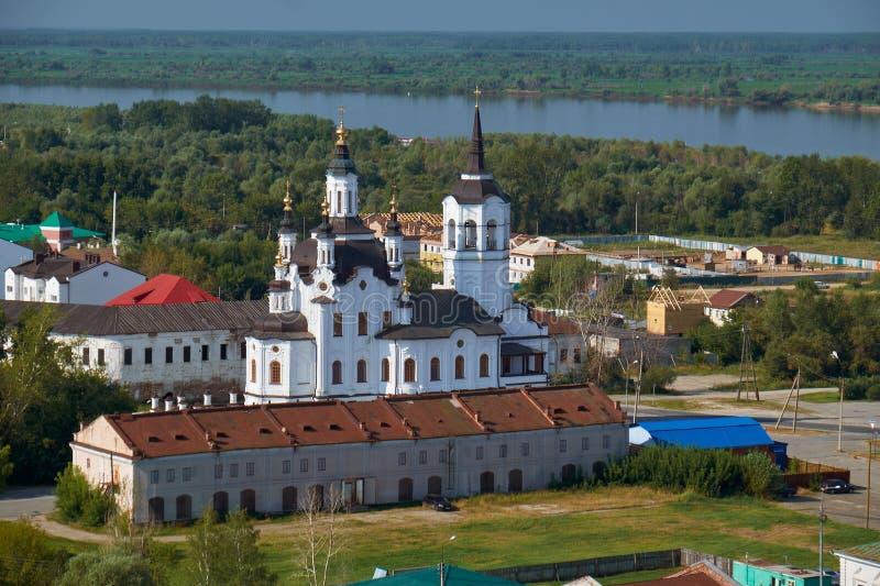 Helgon Zachary och Elisabeth Church Tobolsk Ryssland royaltyfri foto