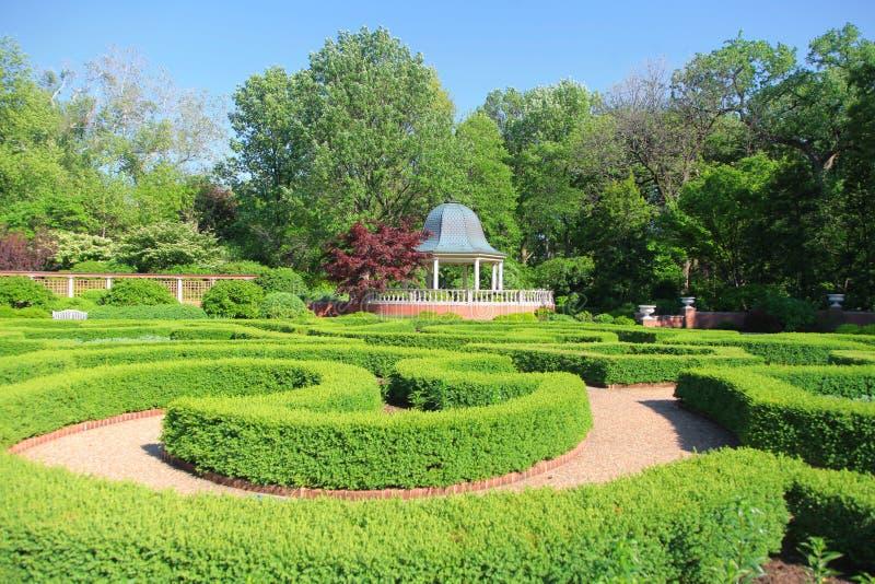 HelgonLouis Botanical trädgård fotografering för bildbyråer