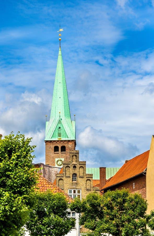 Download HelgonOlaf Domkyrka I Den Gamla Staden Av Helsingor - Danmark Fotografering för Bildbyråer - Bild av lutheran, renässans: 78726741