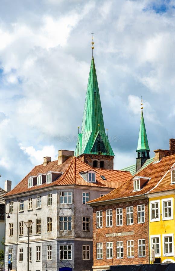 Download HelgonOlaf Domkyrka I Den Gamla Staden Av Helsingor - Danmark Arkivfoto - Bild av klassiskt, lutheran: 78726962