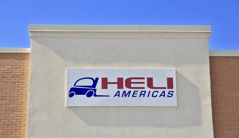 Heli Americas Forklift Manufacturers immagine stock