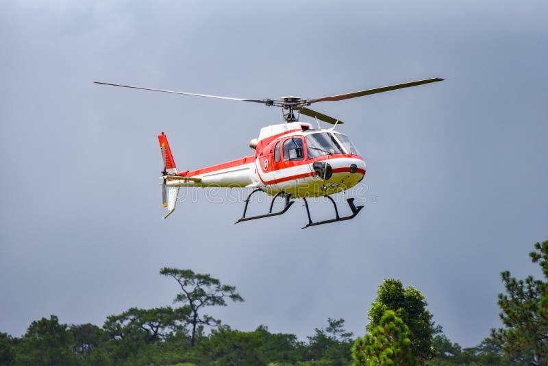 Helicóptero imagen de archivo