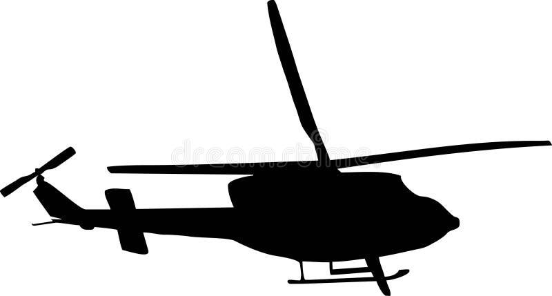 Helicóptero ilustración del vector