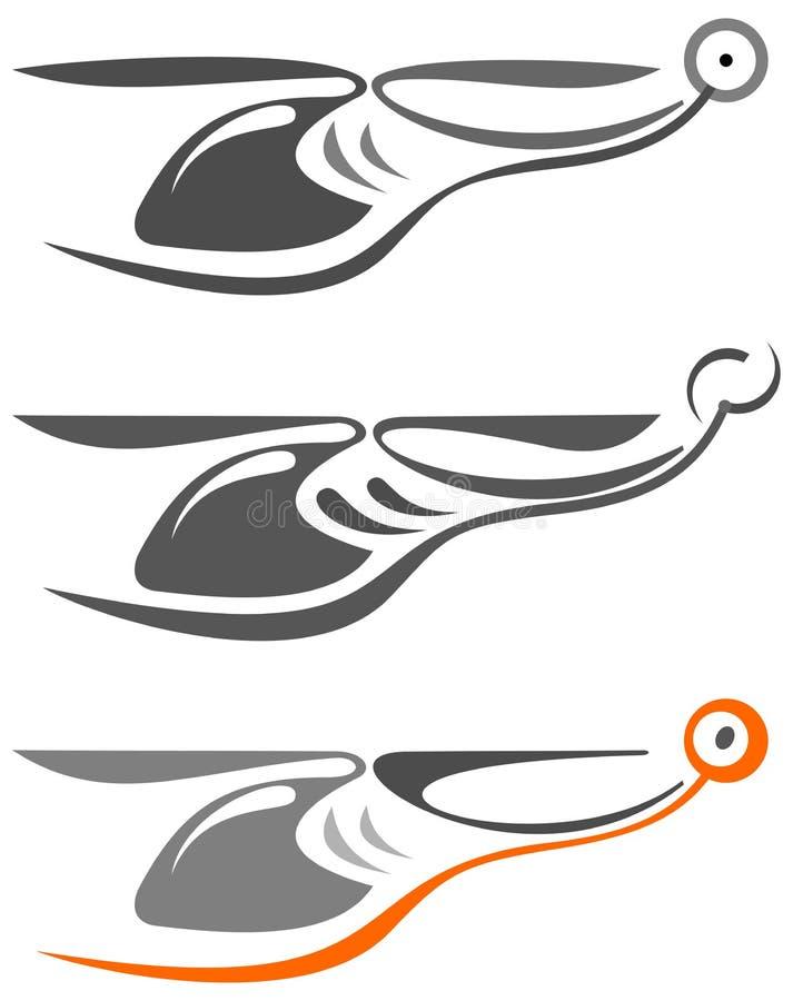 Helicóptero - bosquejo del tatuaje libre illustration