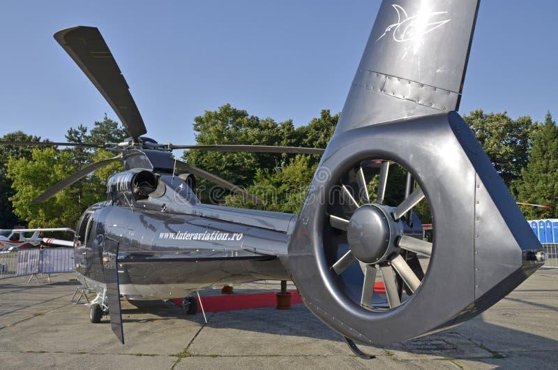 Helicóptero Bucarest fotografía de archivo libre de regalías