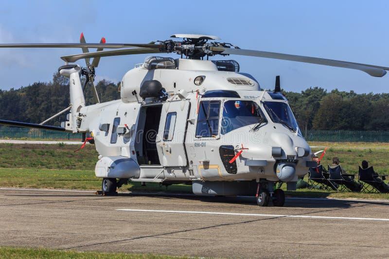 Helicóptero da marinha NH-90 imagens de stock royalty free