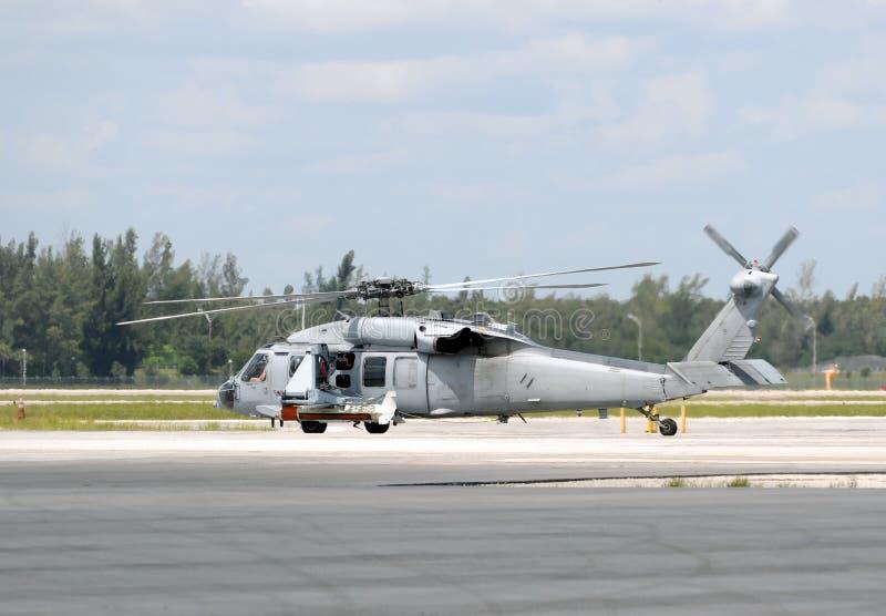 Helicóptero das forças armadas dos E.U. imagem de stock