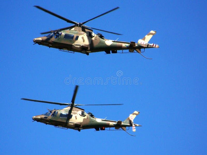 Helicóptero de Agusta imagen de archivo