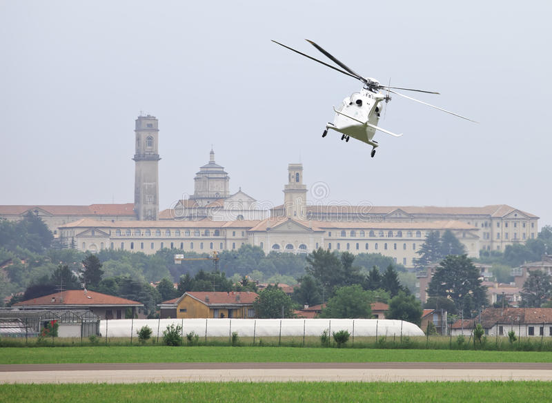 Helicóptero de Agusta Westland AW139 imagen de archivo