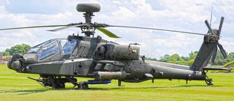 Helicóptero de Apache fotografia de stock royalty free
