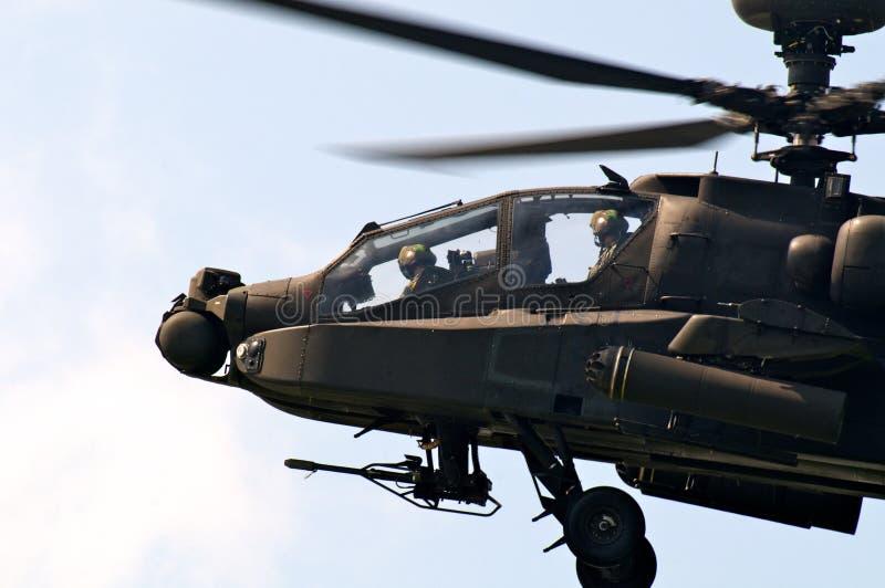 Helicóptero de ataque imagens de stock