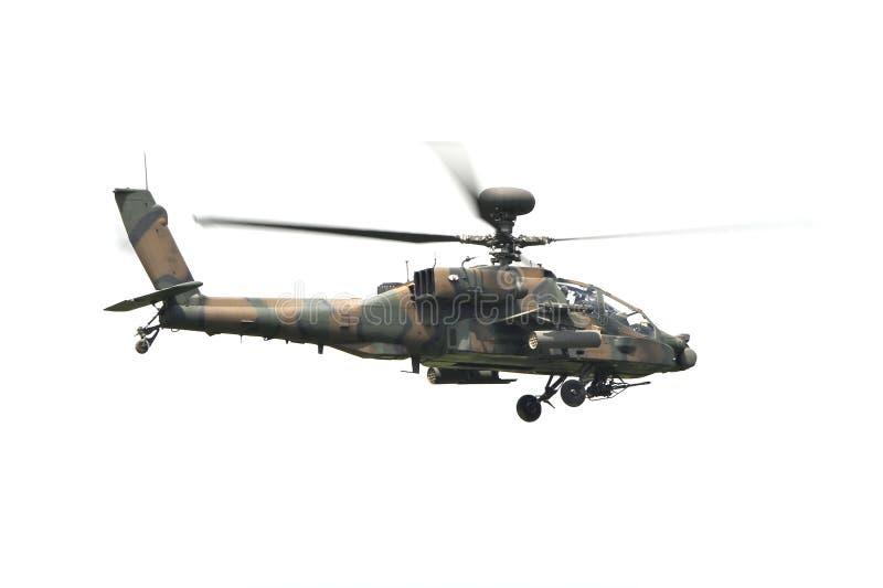 Helicóptero de ataque fotografia de stock royalty free