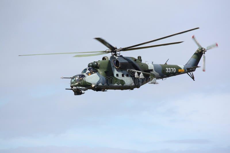 helicóptero de ataque Russo-feito imagens de stock